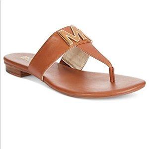 5fbdc38949ba MICHAEL Michael Kors Shoes - Michael Michael Kors Hayley Leather Thong  Sandals